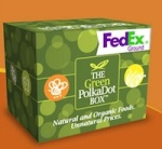 Green Polk Dot Box